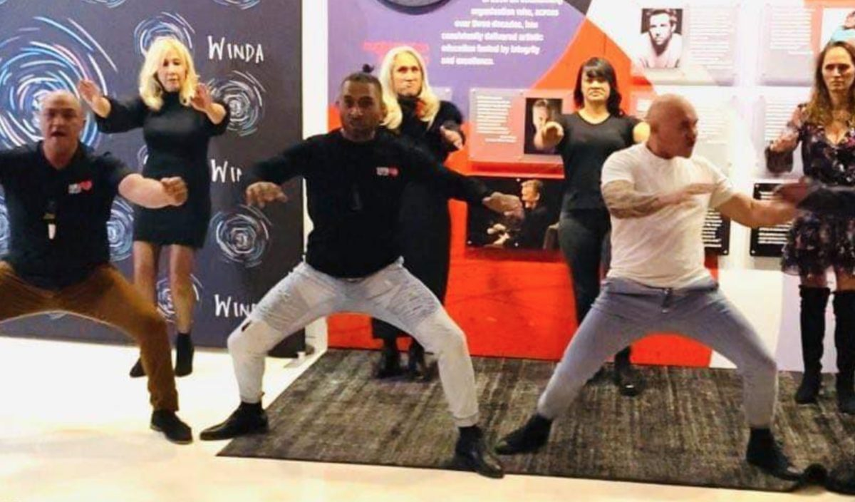 Haka For Life at 'Cousins' movie premiere, Sydney